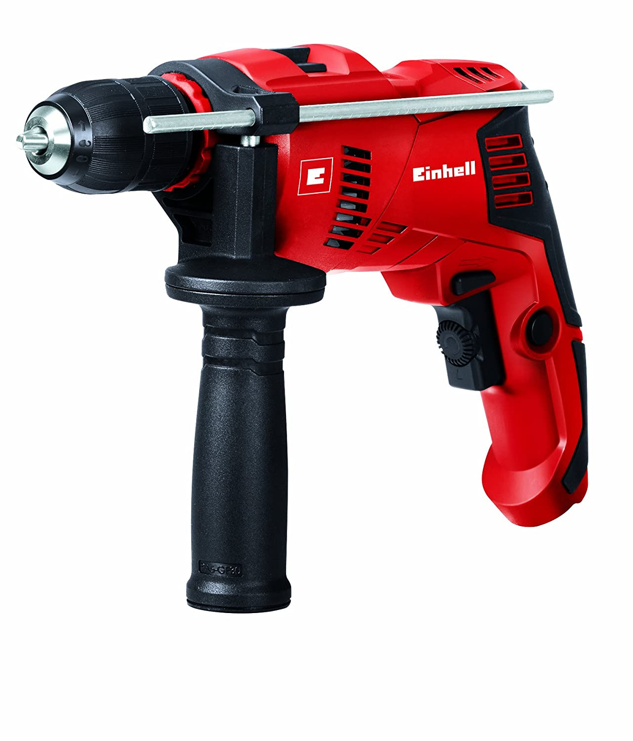 Einhell TE-ID 500 E 550 W Corded Impact Drill with Electronic Speed Control - Red 4259610