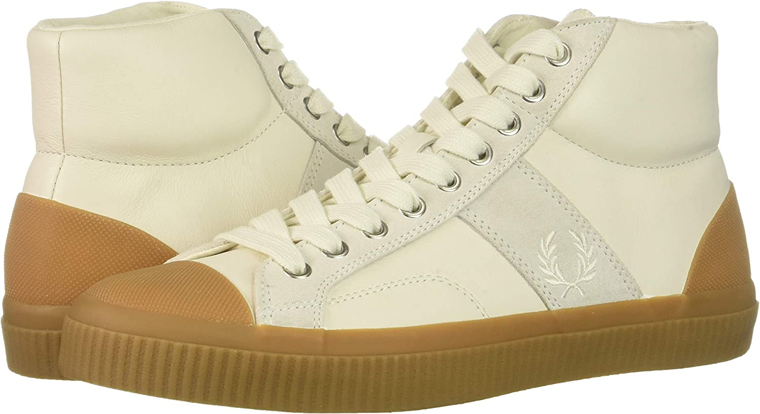 Fred Perry Mens Hughes Mid Leather Sneaker