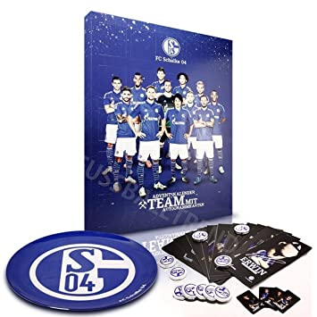 Weihnachtskalender Schalke.Fc Schalke 04 Chocolate Advent Calendar With Autograph Cards