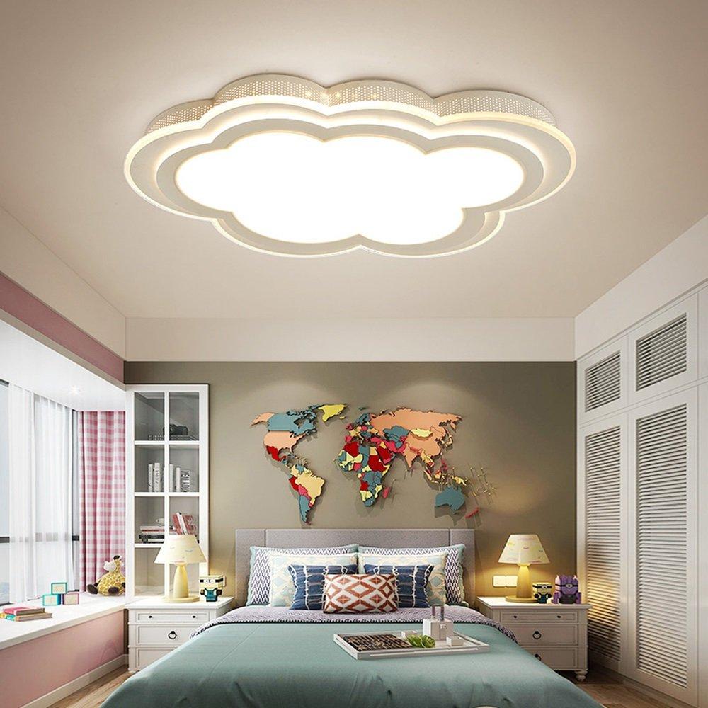 MILUCE Child clouds ceiling lights bedroom living room ceiling lamps ( Color : White light , Size : 45656CM )