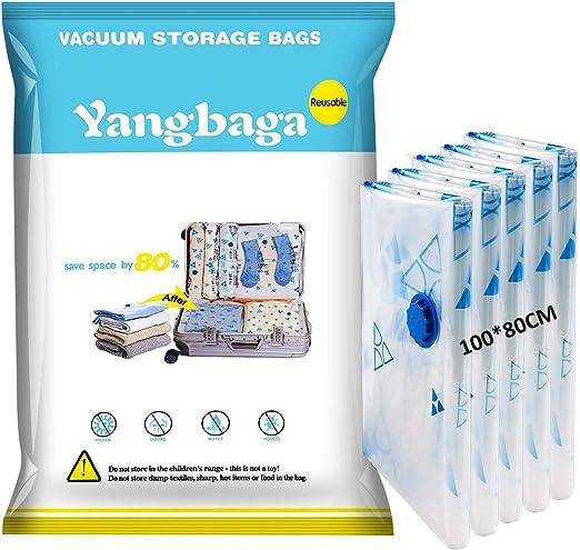 Yangbaga Bolsas de Almacenaje al Vacío 5 Unidades Bolsas Vacio ...