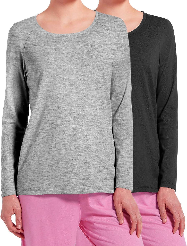 Top de Pijama Mujer Negro Gris S: Amazon.es: Ropa y accesorios