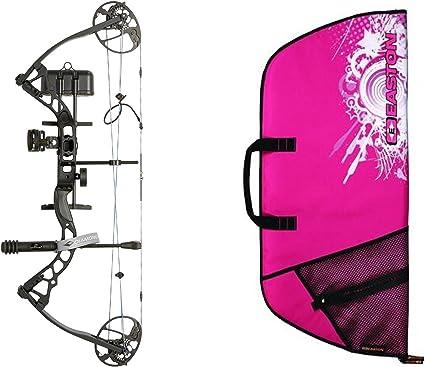 "RAK Package 5-70# 13-31/"" Diamond//Bowtech-Infinite Edge Pro Pink Left Hand"