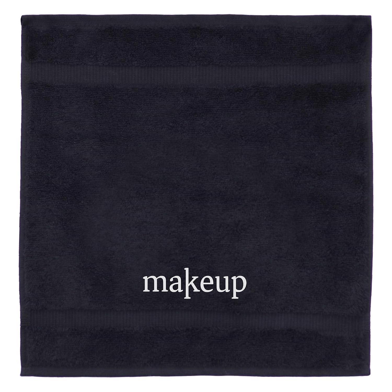 Luxury Black Cloth Turkish Cotton Make up Cleansing (Set of 6)