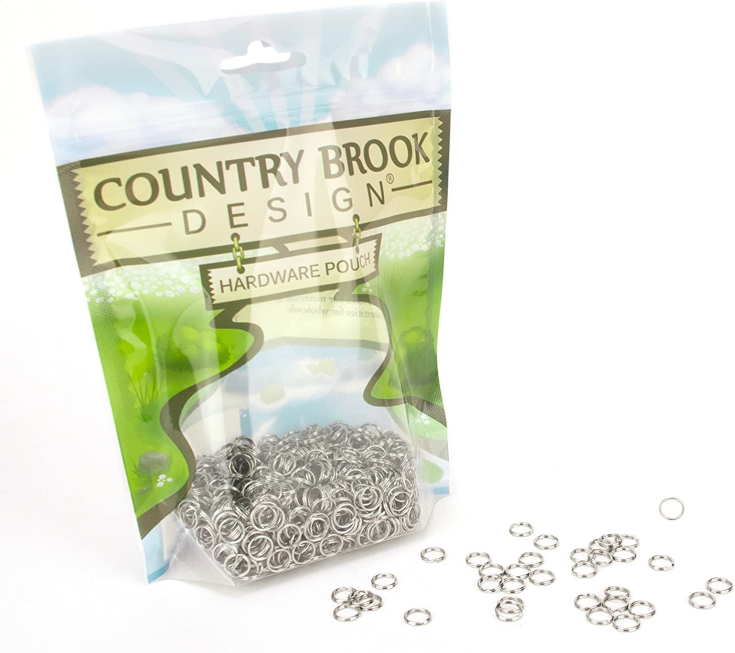 10 Country Brook Design® 1 Inch Plastic Rectangle Ring