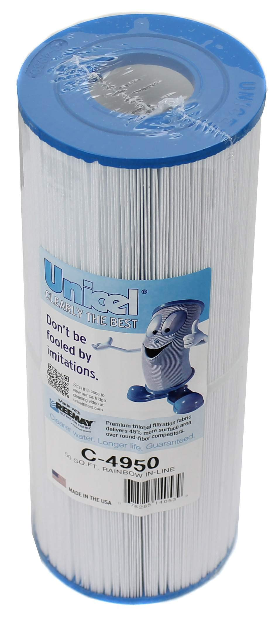 2 Unicel C4950 Filter Cartridges by Unicel