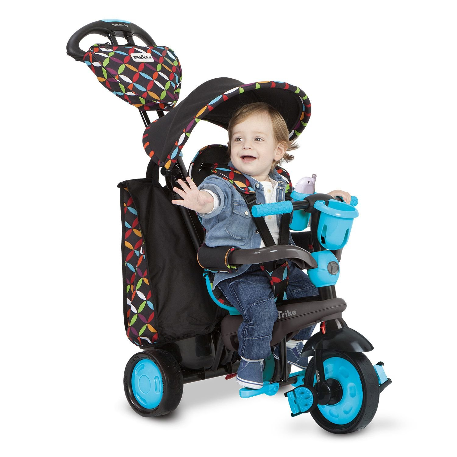 amazoncom  smart trike touch steering boutique  red  toys  - amazoncom  smart trike touch steering boutique  red  toys games  baby