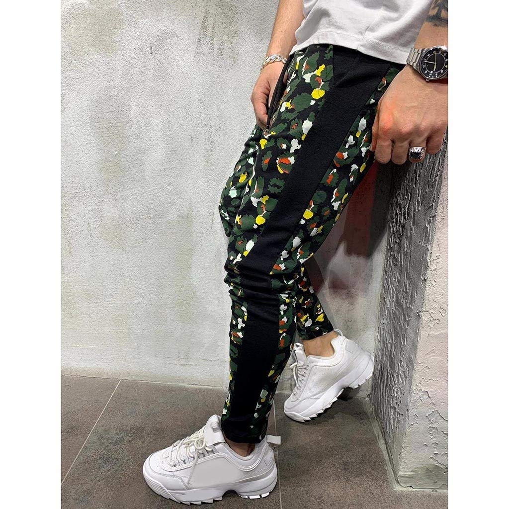 Men's Casual Jogger Pants Slim Fit Stretch Sweatpants Trouser Outdoor Hiking Sweatpants with Pockets M-XXL by VEZARON (Image #4)