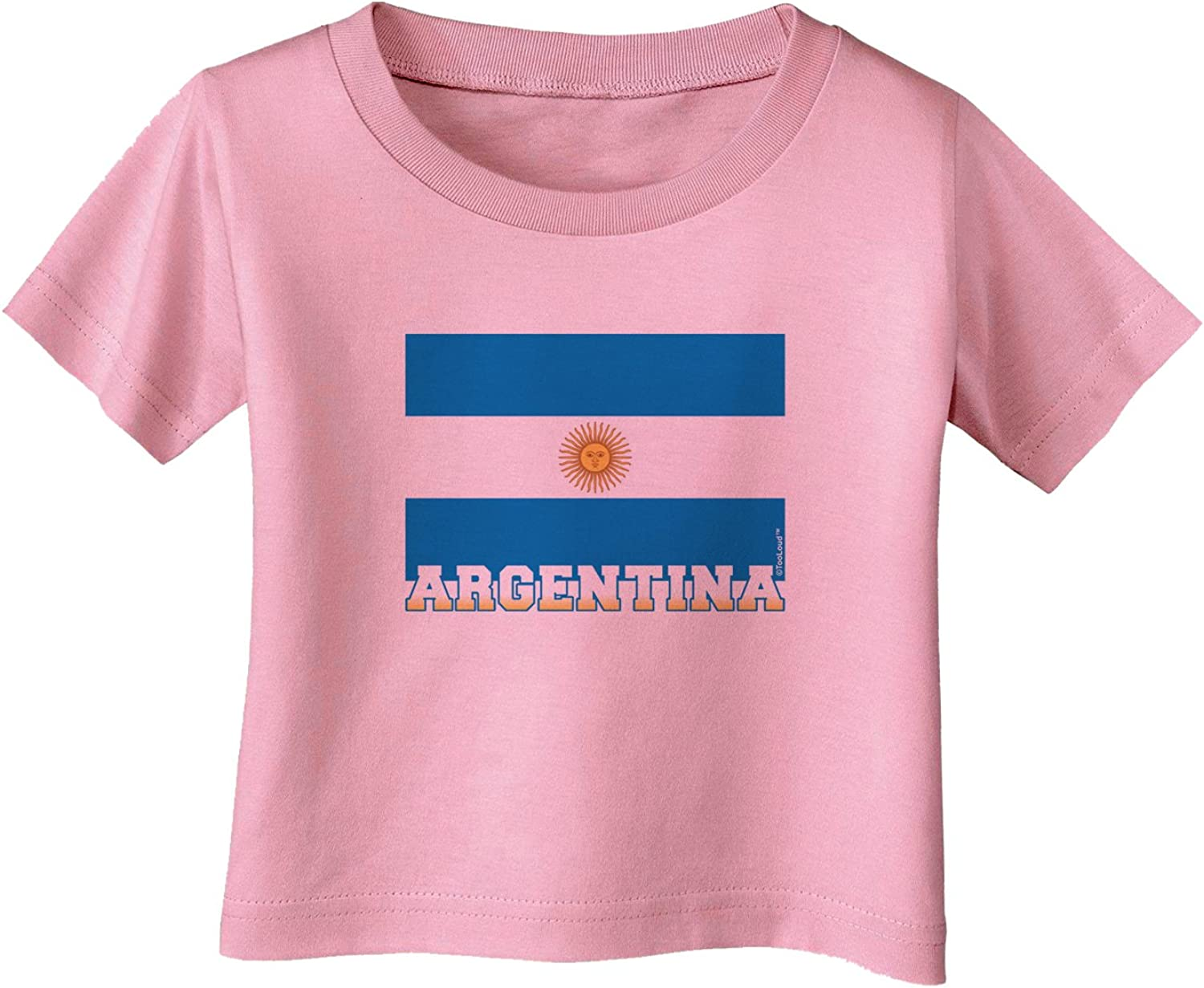 TOOLOUD Argentina Flag Infant T-Shirt