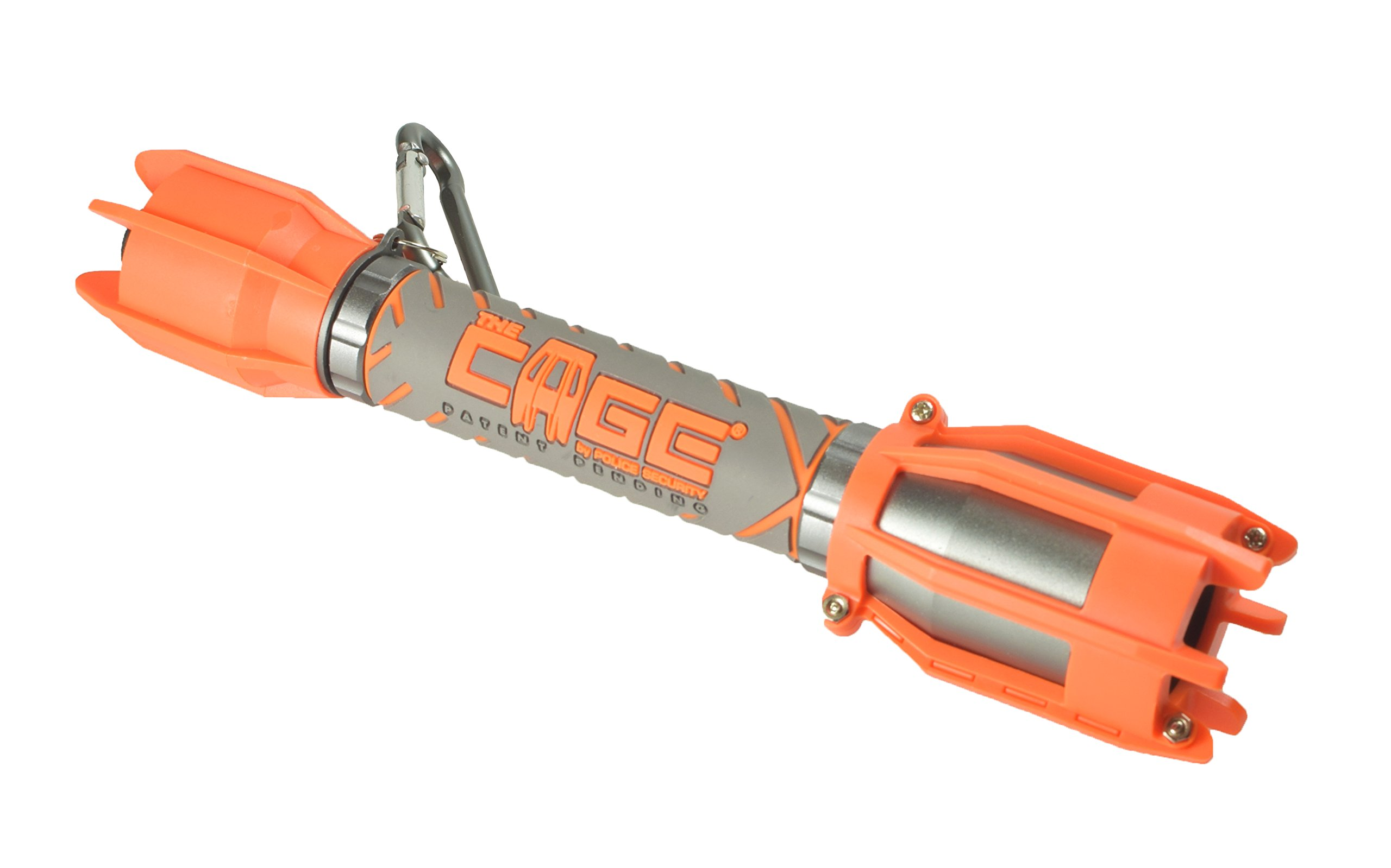 Police Security Extreme CAGE Flashlight by Police Security