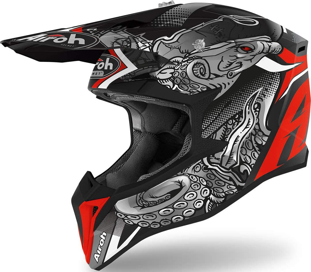 CASCO AIROH WRAAP OCTOPUS MATT L