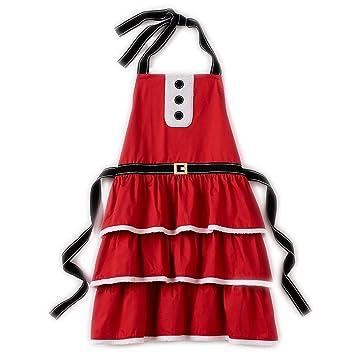 mrs santa claus christmas apron adult size - Christmas Apron