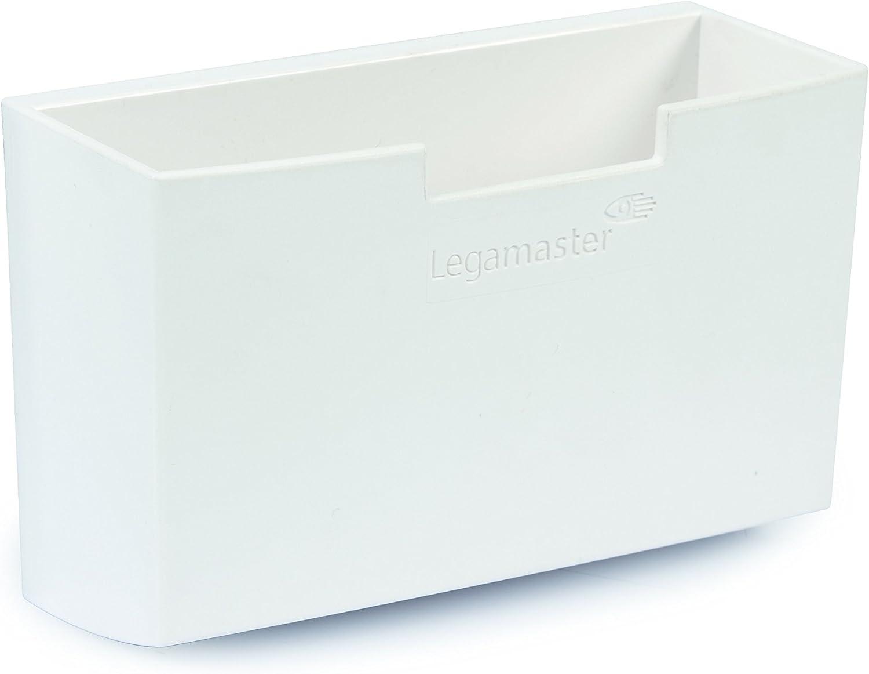 wei/ß Legamaster 7-122600,/Magnetic Accessory Holder for Glass Boards Zubeh/örk/öcher Whiteboard