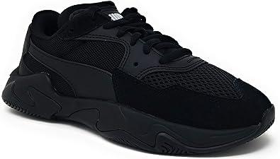 Puma Kid's Storm Origin Jr Boys Fashion Sneakers Puma Black 7 Big Kid