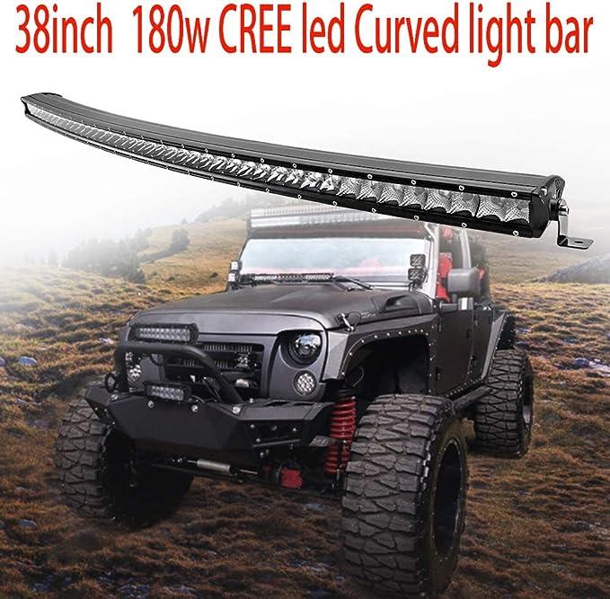 CREE 38INCH 210W SINGLE ROW LED LIGHT BAR FOG LAMP 4X4 4WD OFFROAD JEEP TRUCK 40