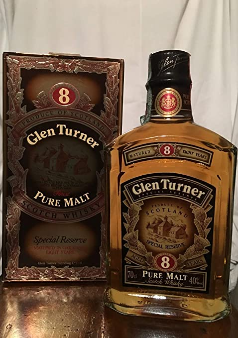 Glen Turner 8yo con estuche 70cl old bottle: Amazon.es: Alimentación y bebidas