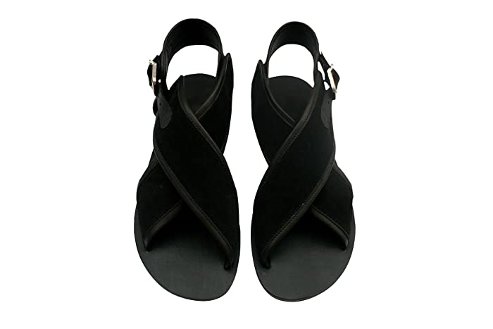 06713baa50d25b Image Unavailable. Image not available for. Color  Exotic Leather Sandals  for Women   Men - Handmade ...