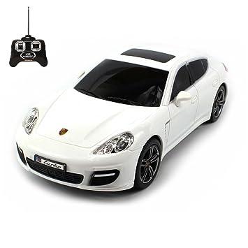 Porsche Panamera Turbo - RC ferngesteuertes sous licence véhicule au design original, modèle échelle : 1 : 24, avec télécommande: Amazon.es: Juguetes y ...