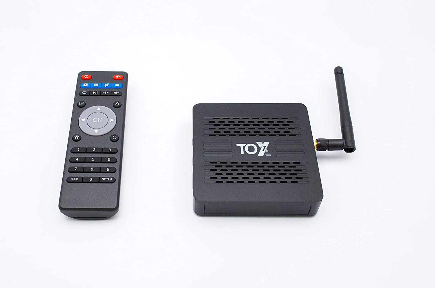 Tox1 4k Ultra Hd With Remote Android 9 Pie Amlogic Amazon Co Uk Electronics