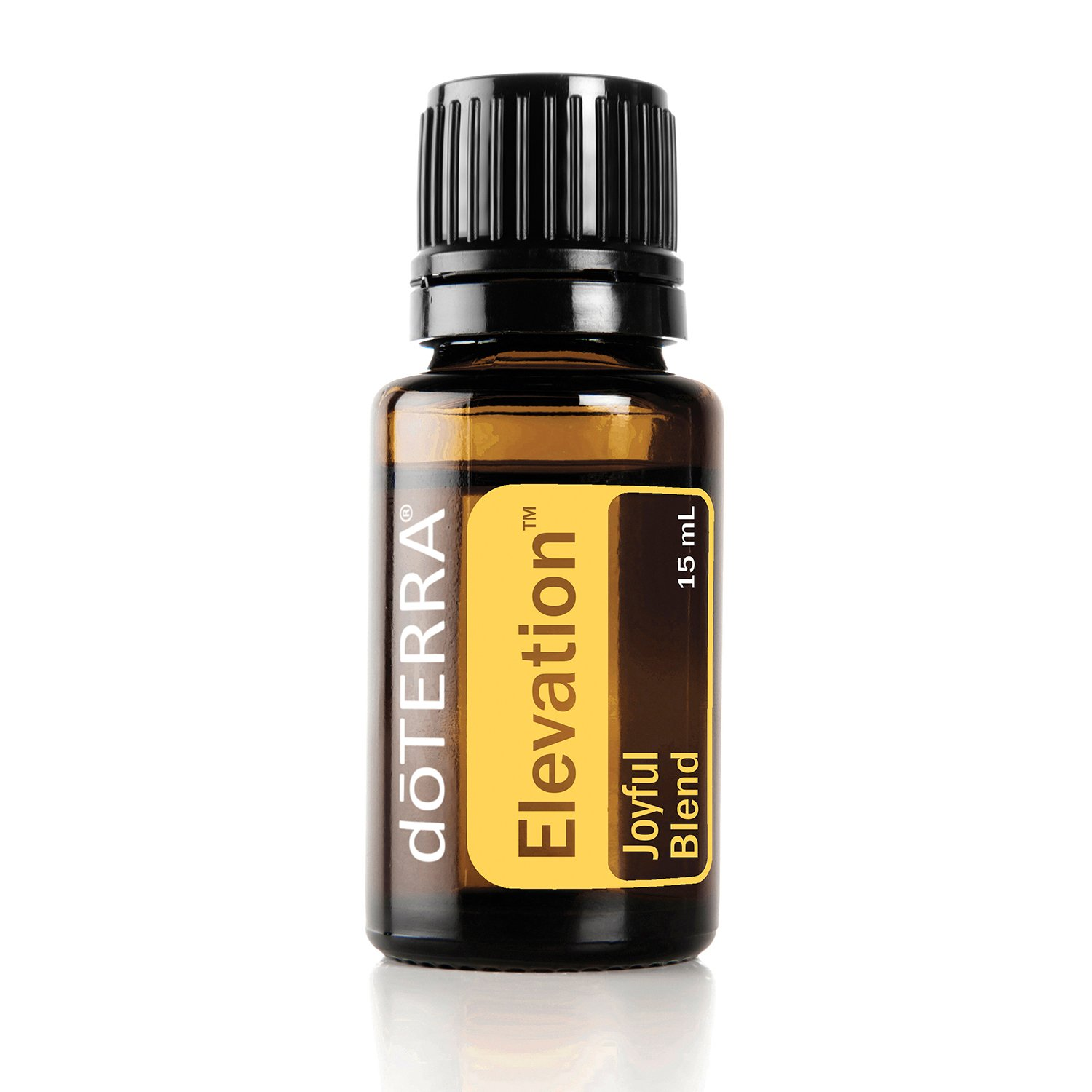 doTERRA - Elevation Essential Oil Joyful Blend - Energizing and Refreshing Aroma Promotes Elevated Mood and Increases Vitality; For Diffusion or Topical Use - 15mL