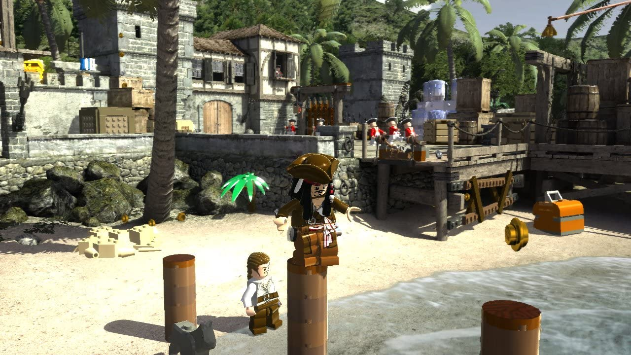 Amazon.com: LEGO Pirates of The Caribbean – Xbox 360: Disney ...
