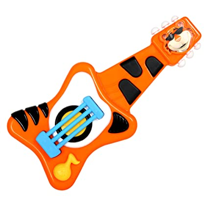 Amazon Com Baby Genius Tempo S Super Star Guitar Toys Games