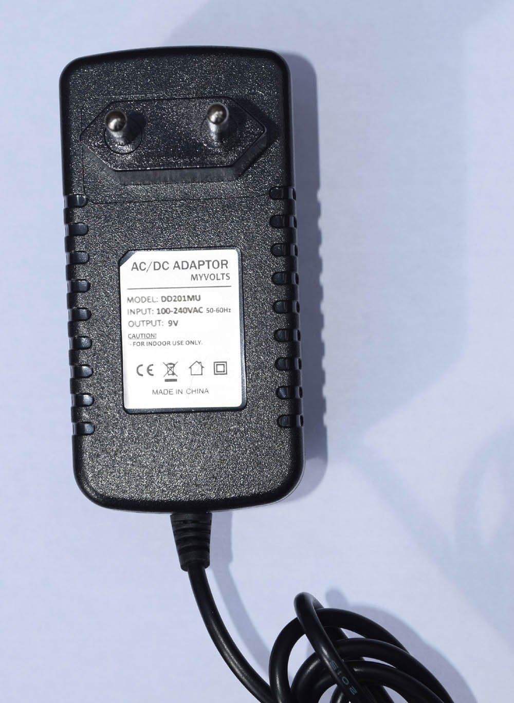 MyVolts Chargeur//Alimentation 9V Compatible avec Roland Juno Stage Clavier Premium Adaptateur Secteur - Prise fran/çaise