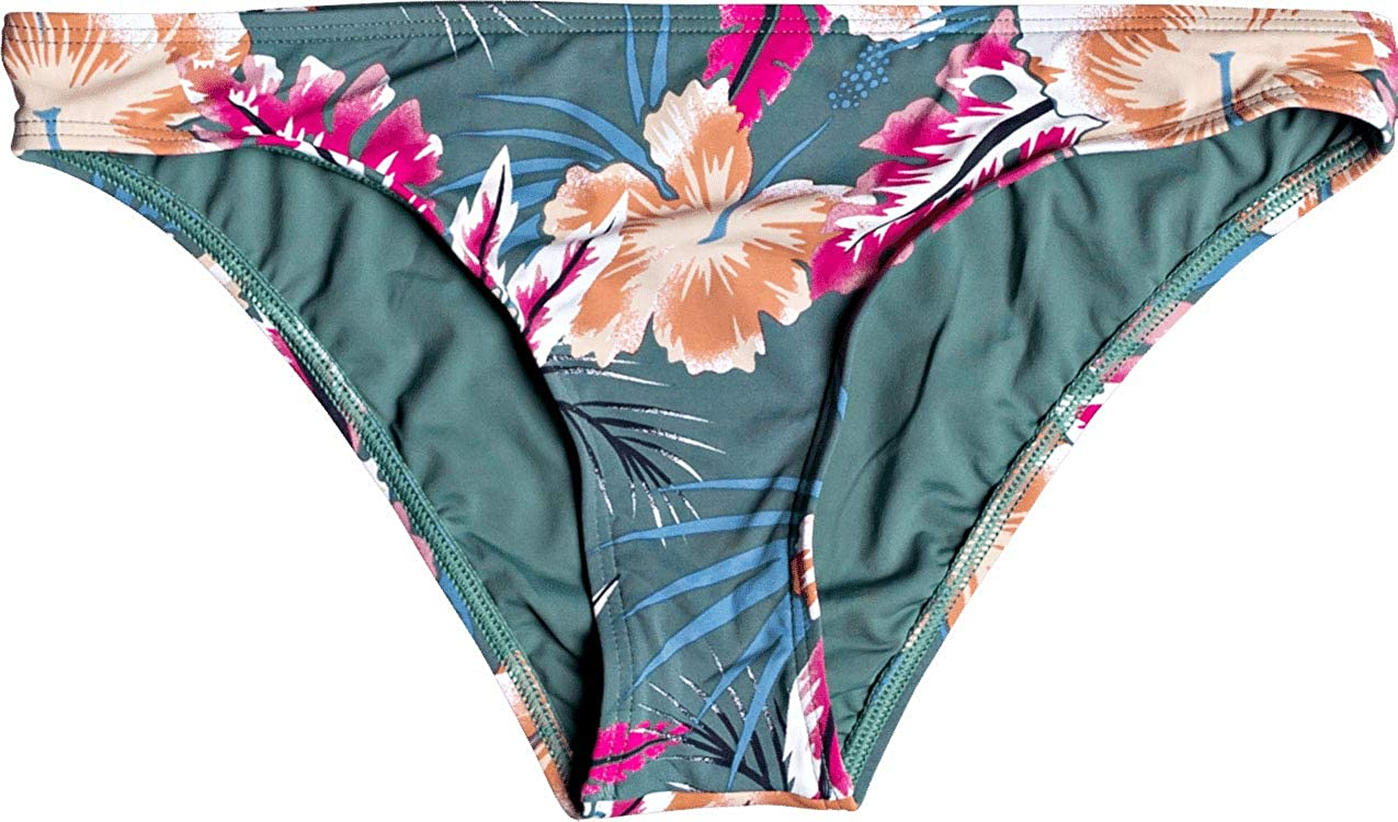 Roxy Women's Printed Beach Classics Regular Bikini Bottom