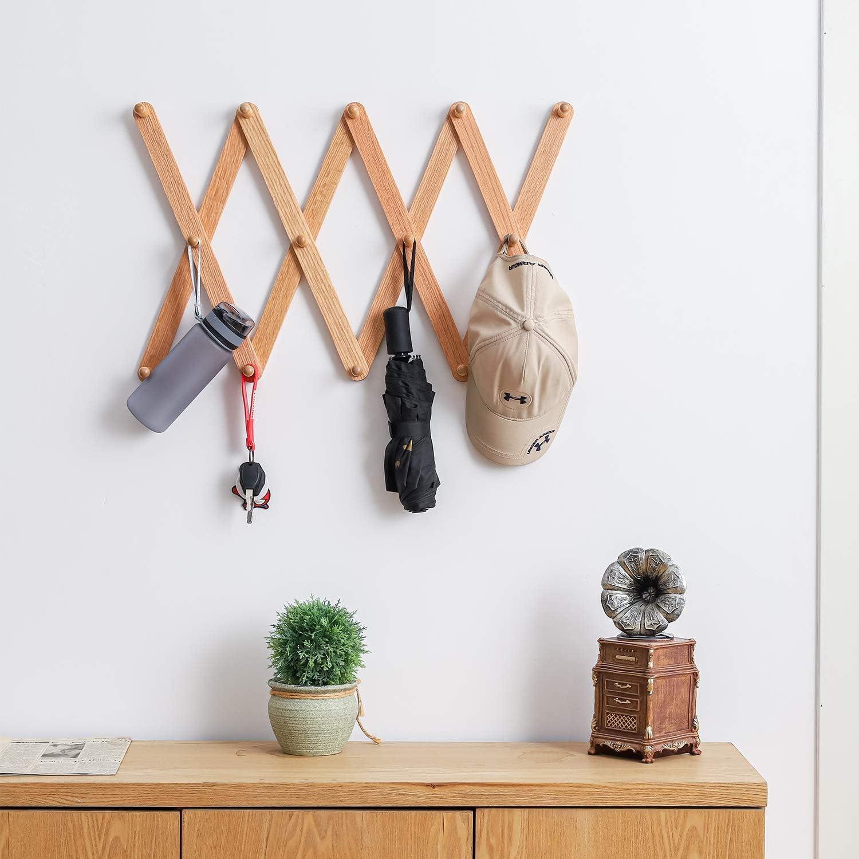 Wall Mounted Funky Coat Hat Towel Hooks Hanger Home Decor Gift Organiser Rack