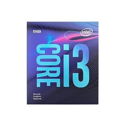 Intel Core i3-9100F - Procesador de sobremesa (4 núcleos, hasta 4,2 GHz, sin gráficos de procesador, LGA1151 300 Series 65W)