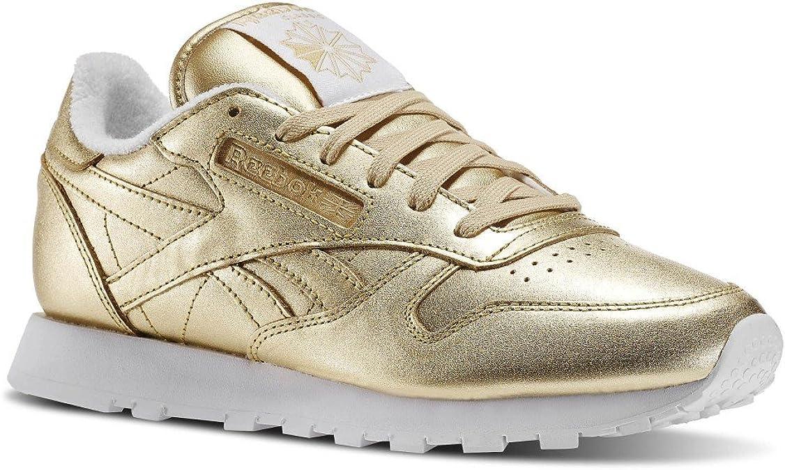 Renacimiento Melancólico Contratado  Reebok CL Leather Spirit Women Sneaker Trainer V70668: Amazon.de: Schuhe &  Handtaschen