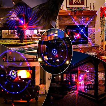 Amazon landscape spotlights led outdoor lights displays landscape spotlights led outdoor lights displays projector show waterproof rotating projection lamp for xmas halloween party workwithnaturefo