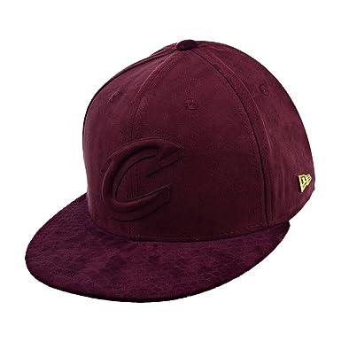 2ee13c59304 New Era Cleveland Cavaliers Snakeskin Men s Strapback Hat Cap Maroon  11524375 (Size ...