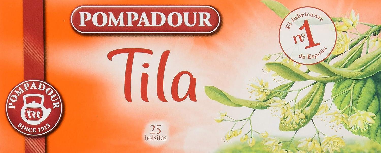 Pompadour - Té de Tila, 25 bolsitas