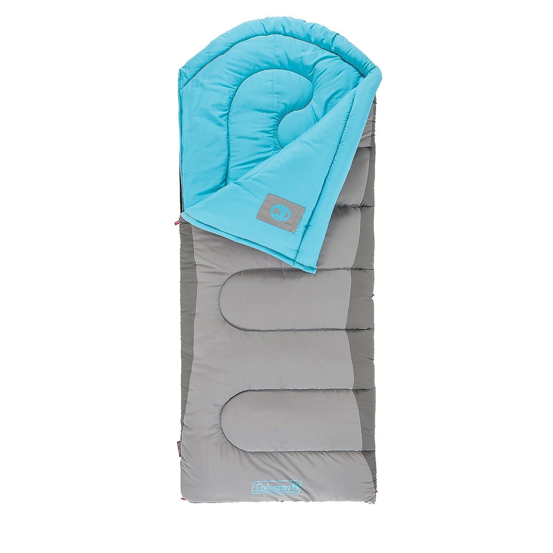 Coleman Otoño senderos Big & Tall de 30 grados Saco de dormir, Unisex, azul y gris: Amazon.es: Deportes y aire libre
