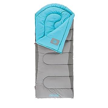 Coleman Otoño senderos Big & Tall de 30 grados Saco de dormir, Unisex, azul