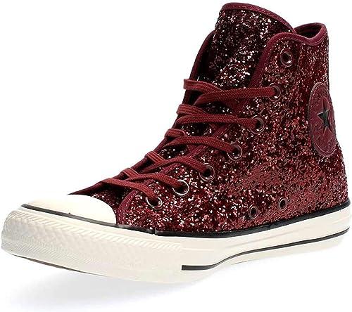 Converse Damen All Star Hi Tex Glitter Hightop Sneaker