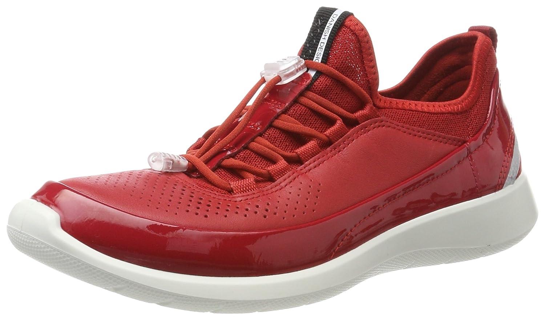 Ecco Soft 5, Zapatillas para Mujer 39 EU|Rojo (Chili Red/Tomato/Tomato)