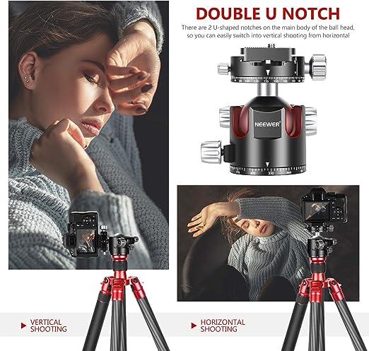 Neewer 44mm Niedriges Profil Kugelkopf Kamera