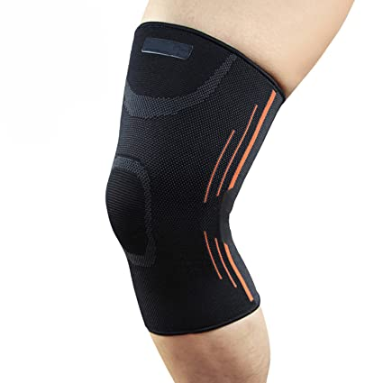 7125438ac2 Knee Brace Sports Compression Support Sleeve, Knee Braces Compression for  Running, Jogging, Biking, Joint Pain Relief, ACL, Arthritis & Injury ...