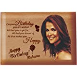 Presto Birthday Gift Anniversary Gift Love Gift Valentine's Day Gift Corporate Gift Wooden Photo Frame by Engraving Process (4 x 5 inch)