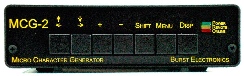 Amazon com : Burst MCG-2 Micro Character Generator