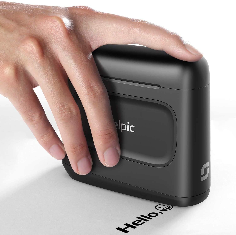 Imprimante /à Jet dencre Imprimante Portable avec Encre Imperm/éable /à S/échage Rapide
