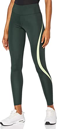 AURIQUE Amazon Brand Women's High Waisted Sports Leggings, Black