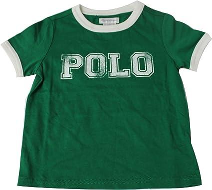 Polo Ralph Lauren - Camiseta - para bebé niño Verde Verde 12 ...