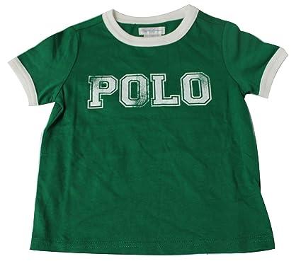 Polo Ralph Lauren - Camiseta - para bebé niño Verde Verde 12 Meses ...