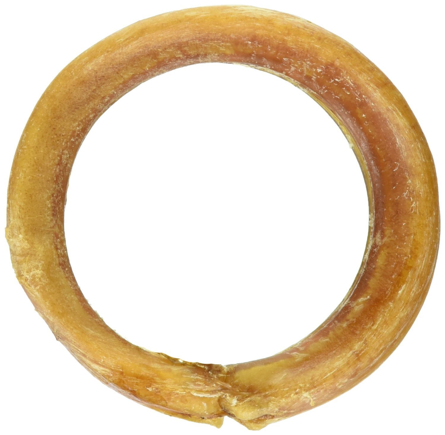 Bully Stick Rings for Dogs (25 Pack) - Natural Bulk Dog Dental Treats & Healthy Chew, Best Thick Low-odor Pizzle Stix, Free Range & Grass Fed Beef