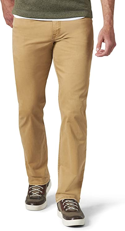 Wrangler Men's Authentics Straight Fit Twill Pant