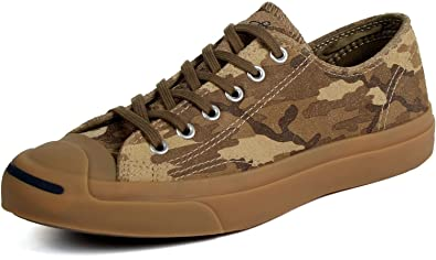 Converse Men's Jack Purcell LTT Camo Sneaker 12 Grey