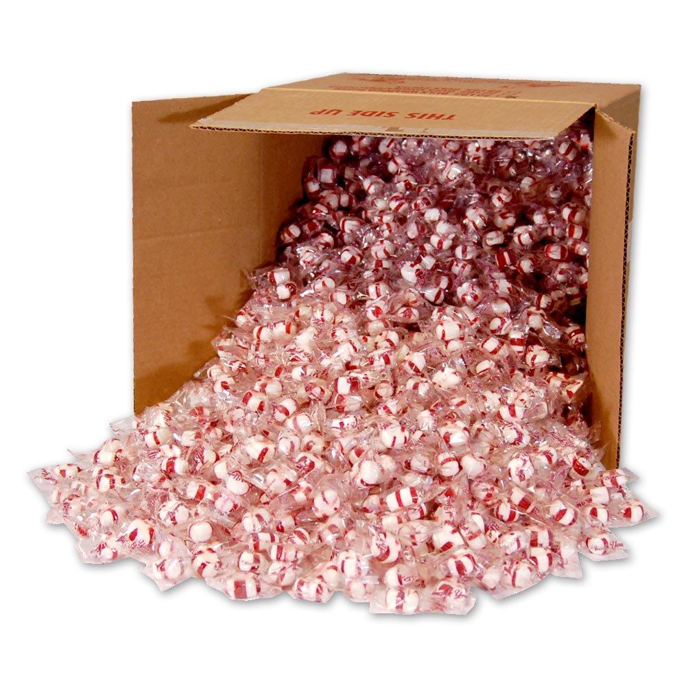 Red Bird Peppermint Puffs 20 lb bulk Thank You Wrap